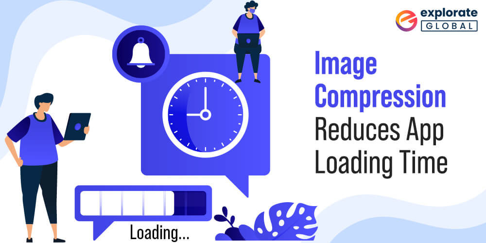 By compressing images in the mobile application, you can improve the performance and loading time of the app.