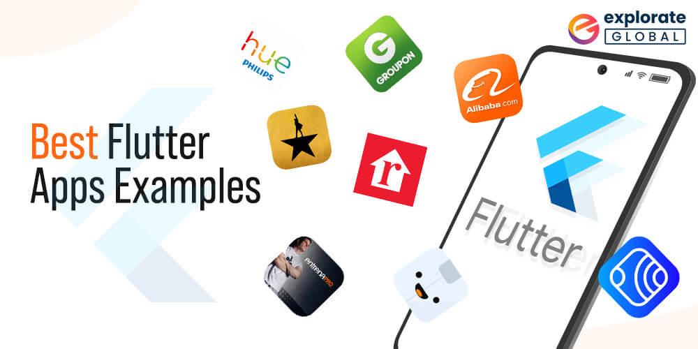 best flutter apps examples