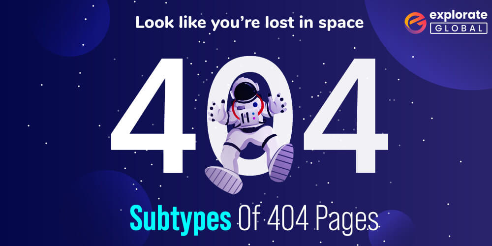 What are the subtypes of 404 pages