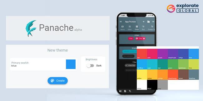 Panache: Flutter material editor tool for mobile app development