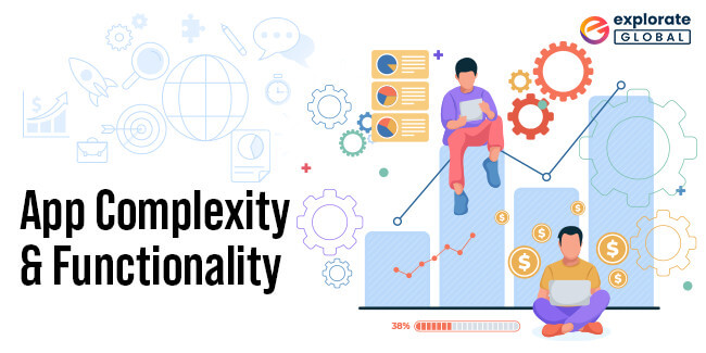App Complexity and Functionality are an important factor in deciding the cost to develop React Native mobile apps
